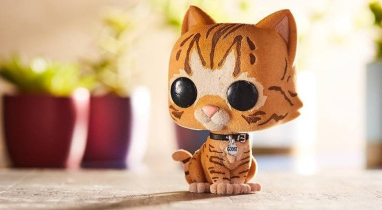 exclusive 'captain marvel' goose the cat funko pop is live