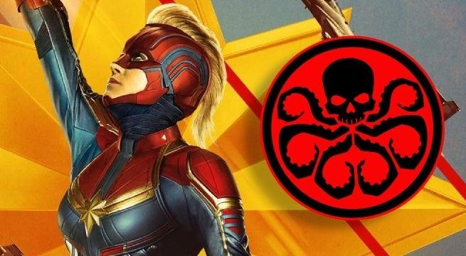captain marvel hydra