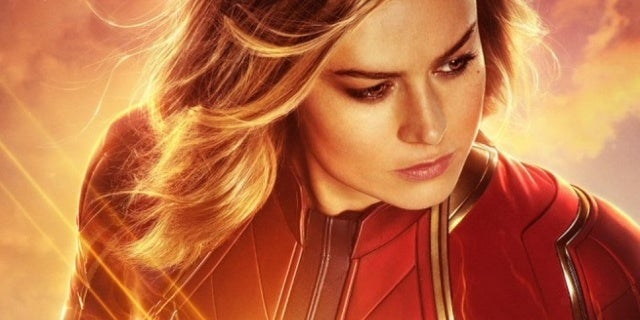 captain marvel real 3d poster