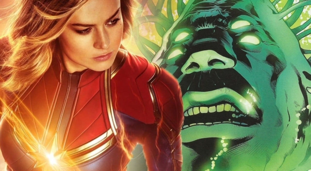 Captain Marvel Deleted Scenes Give Fans First Look at Supreme Intelligence's Full Form