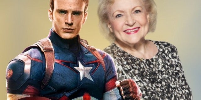 Chris Evans Betty White