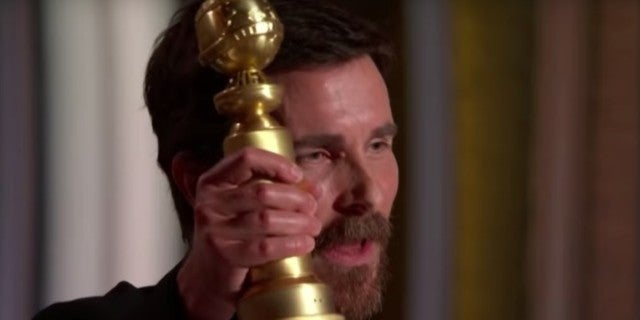 Christian Bale Golden Globes win 2019