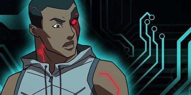 cyborg young justice
