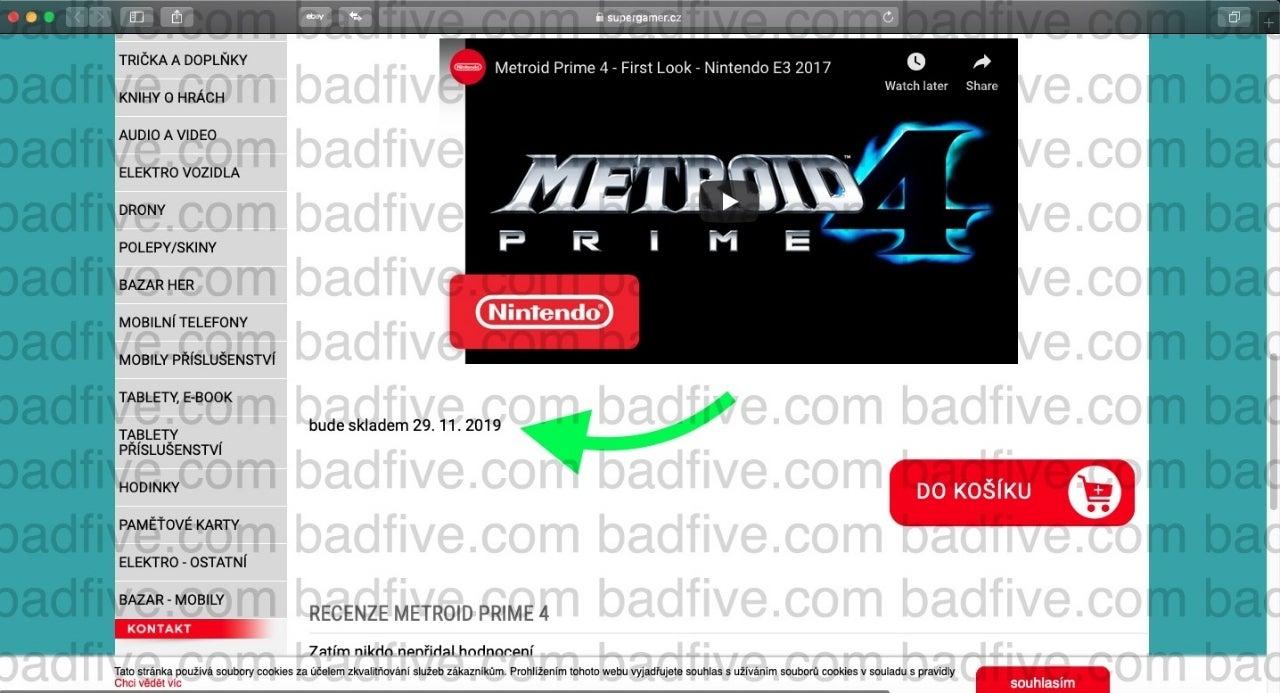'Metroid Prime 4' Release Date Leaked
