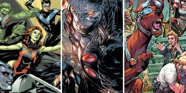 DC Comics Cancels Three Ongoing Series