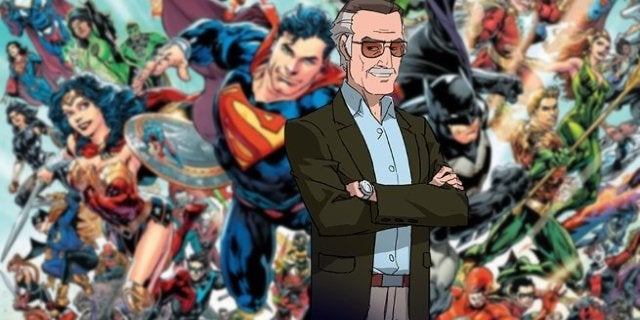 DC Entertainment Stan Lee Tribute Comics Ad