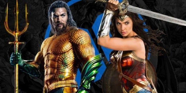 DCEU Aquaman Wonder Woman ComicBookcom