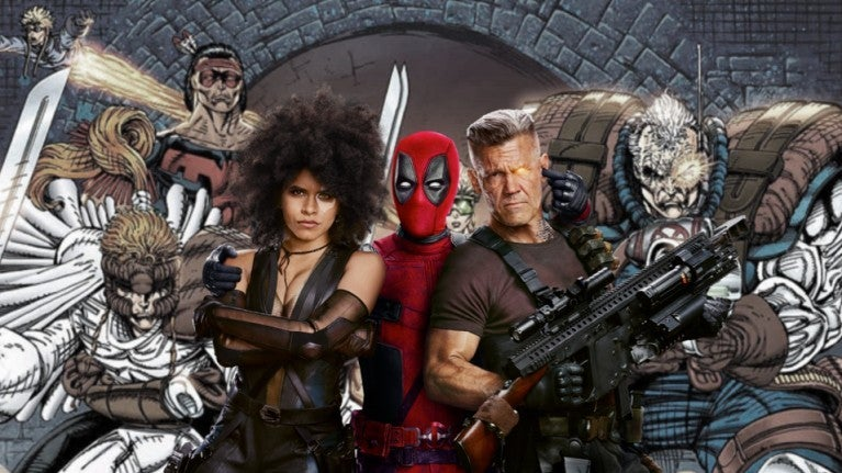 Deadpool 2 X-Force movie ComicBookcom