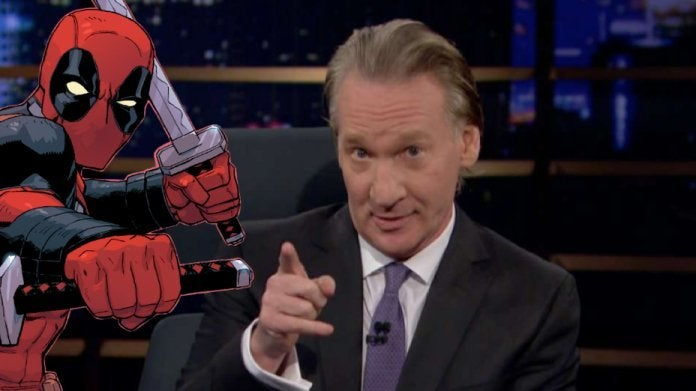 Deadpool Rob Liefeld Bill Maher