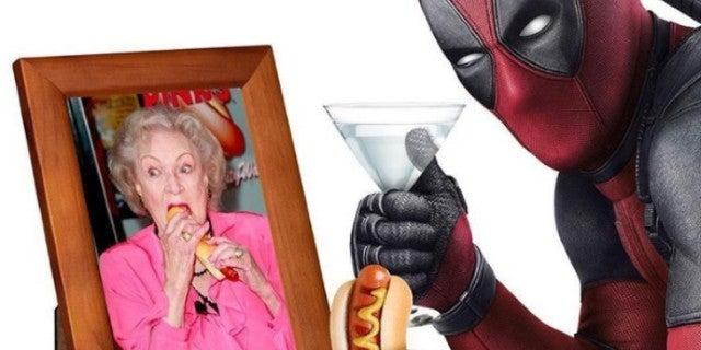 Deadpool Ryan Reynolds Betty White