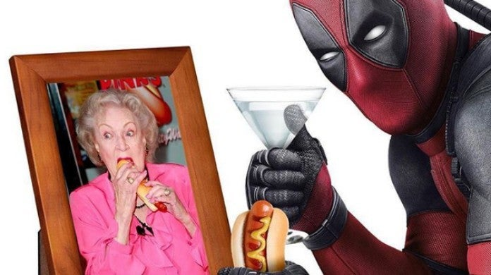 Deadpool Ryan Reynolds Betty White