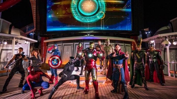 Disney Cruise Marvel Day at Sea