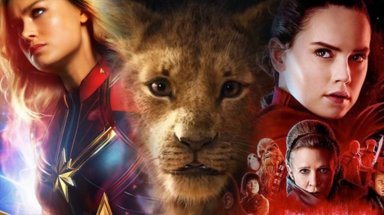 All The Marvel, DC, Star Wars, And Disney Movies Releasing In 2019