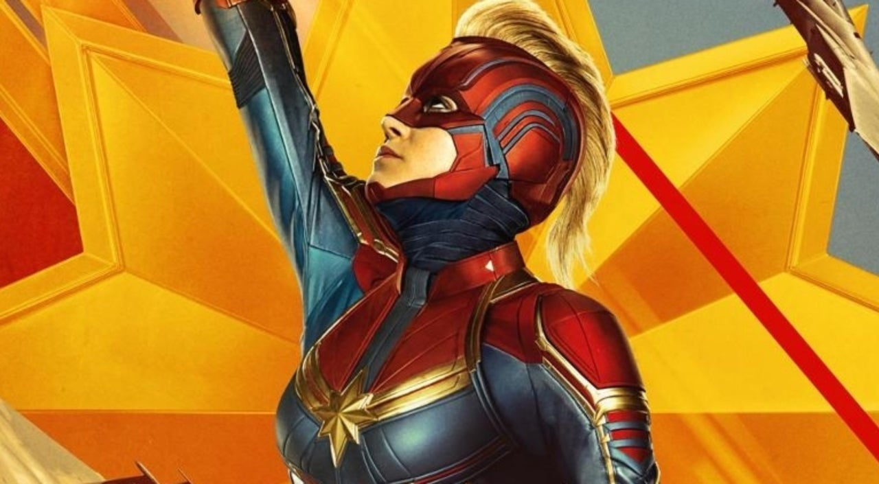 Marvel Studios Artist Reveals Early Version of Captain Marvel Costume With Sash