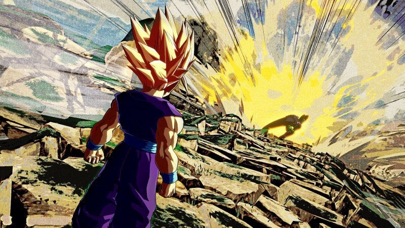 Dragon Ball FighterZ Gohan vs. Perfect Cell