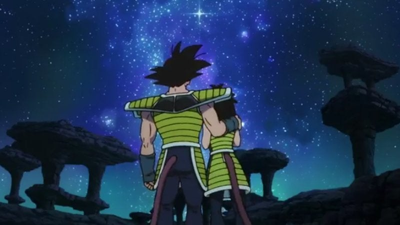Dragon Ball Super Broly Bardock and Gine Dragon Ball Minus