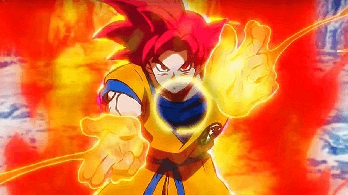 Dragon Ball Super Broly New Super Saiyan God Powers