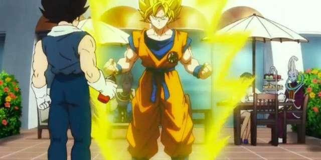 Dragon Ball Super Broly Super Saiyan Transformation