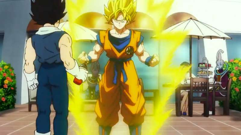 Dragon Ball Super Broly Super Saiyan Transformation