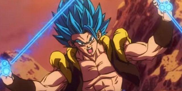 Dragon Ball Super Gogeta vs Broly Fight