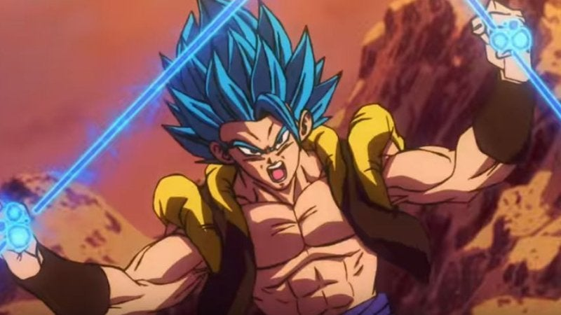 Dragon Ball Super Gogeta vs. Broly Fight