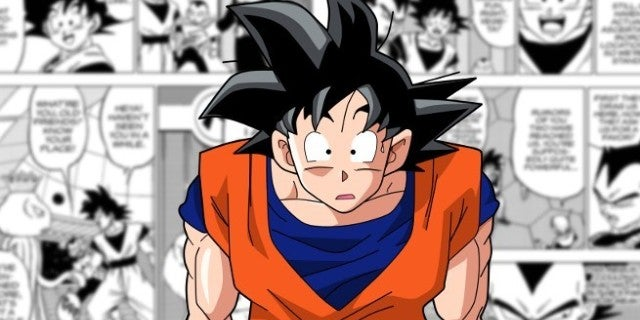 Dragon Ball Super Goku Galactic King Dick Joke Scene