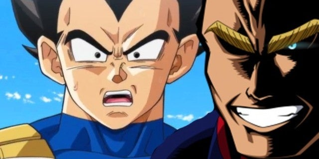Dragon Ball Vegeta Chris Sabat My Hero Academia All Might Contorversy