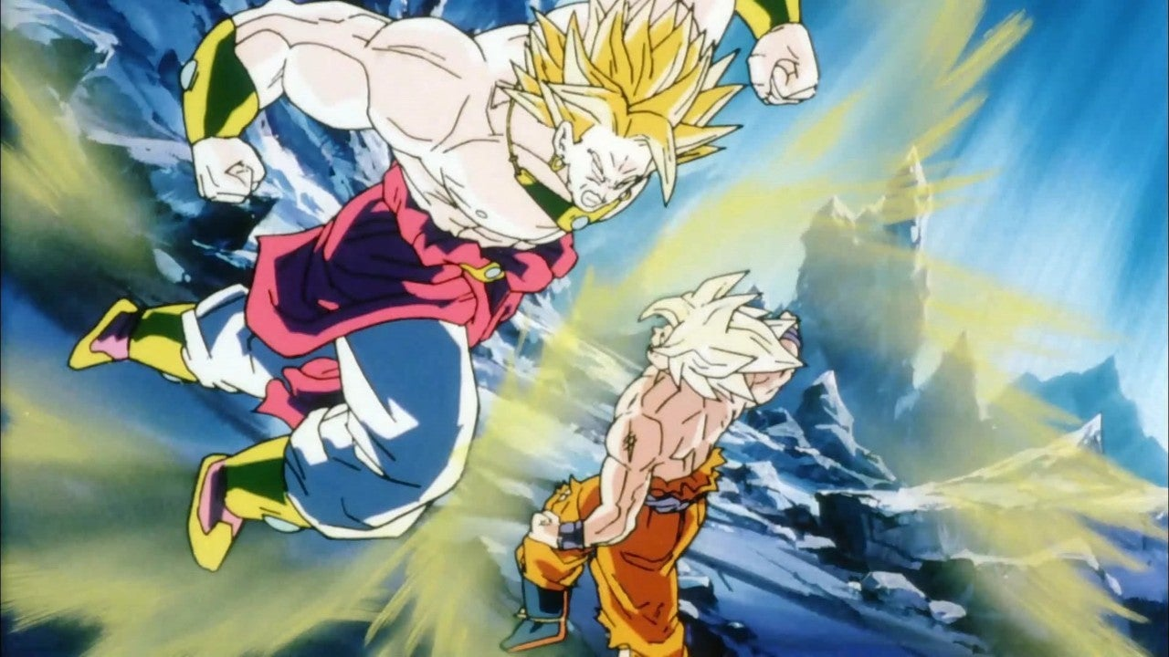 Dragon Ball Z Broly Super Punch