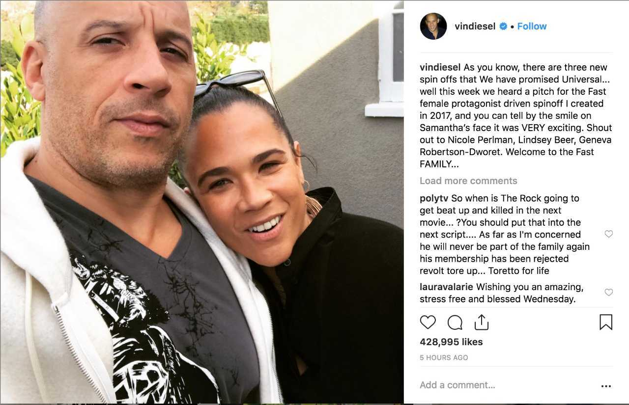 'Fast & Furious' and Vin Diesel Recruit Marvel Talent for ...