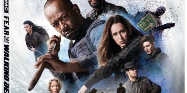 Fear the Walking Dead Season 4 Blu-ray art