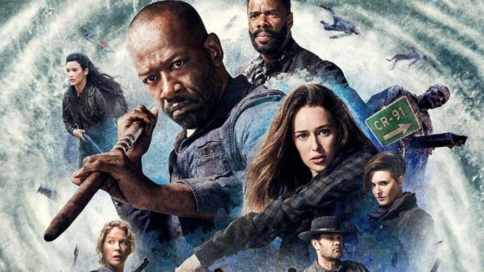 FearTWD Season 4 key art