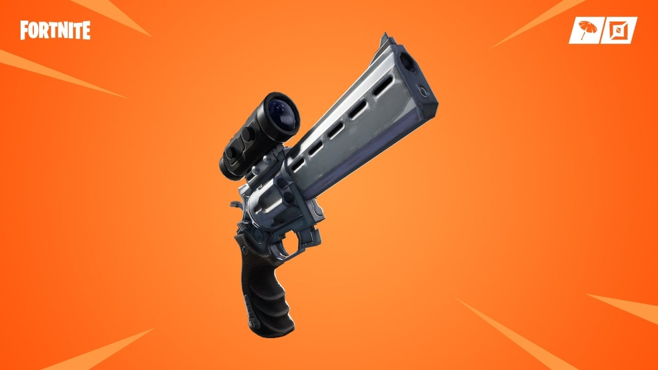 'Fortnite' Adds New Scoped Revolver and Glider Redeploy Item, Plus New Weapon Adjustments