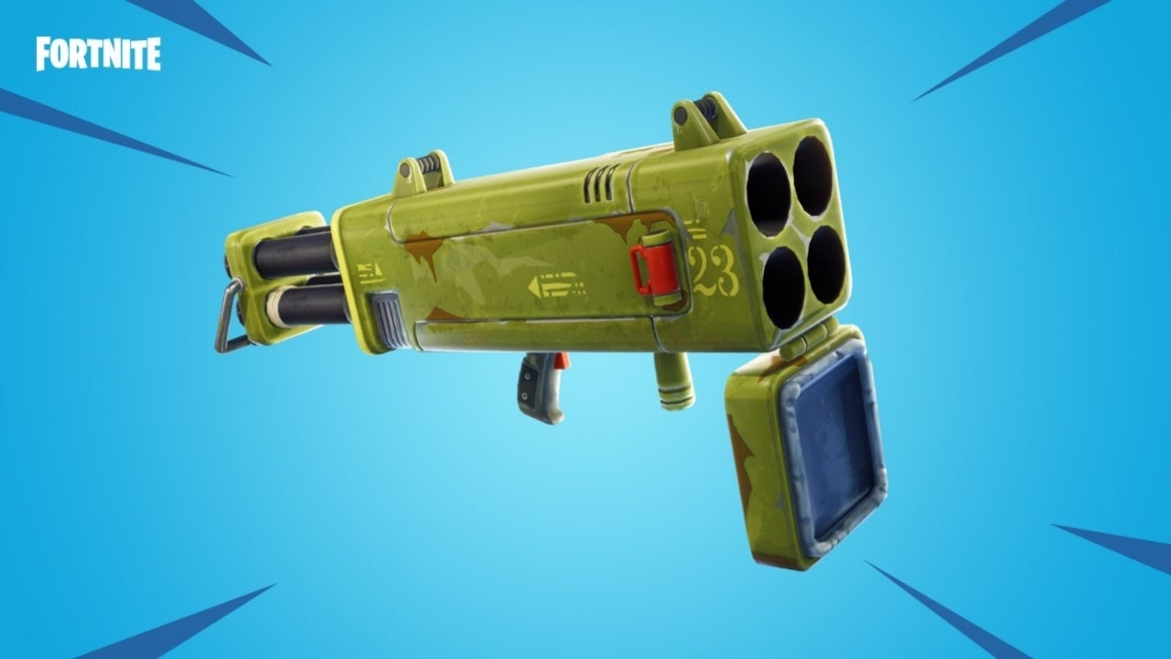Fortnite Here S What S Been Vaulted And Other Weapon Changes