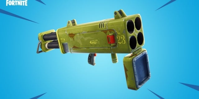 'Fortnite': Here's What's Been Vaulted and Other Weapon Changes