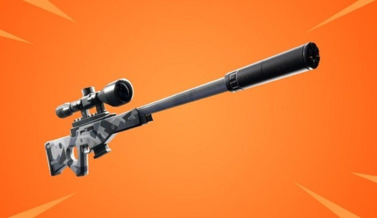 Fortnite Confirms New Suppressed Sniper Rifle
