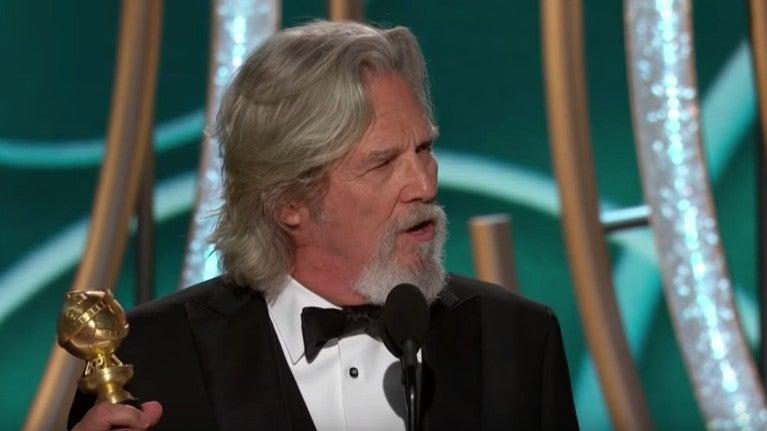 Golden Globes Jeff Bridges