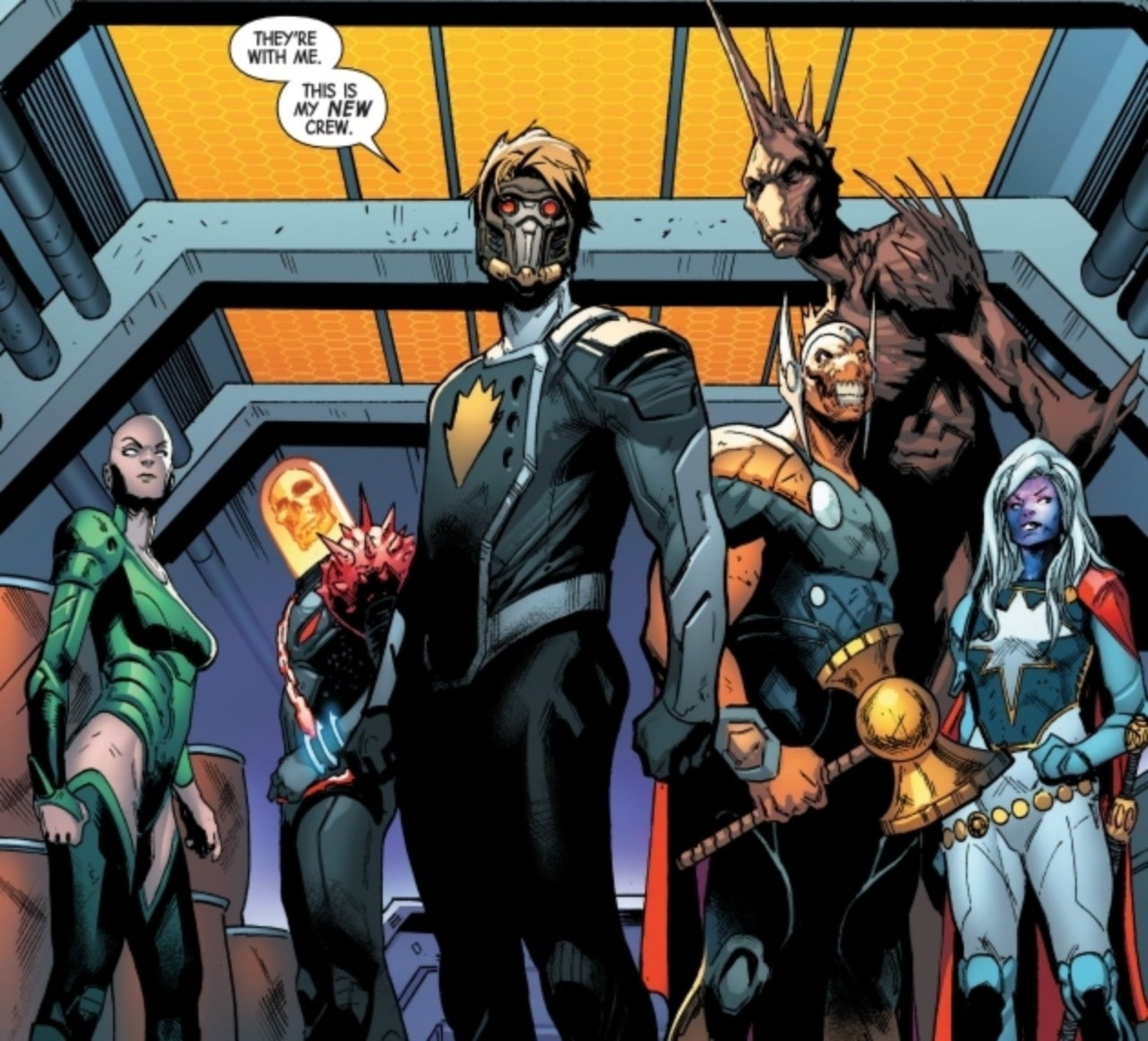 Guardians of the Galaxy' #1 Review: A New Team Takes Marvel Back to