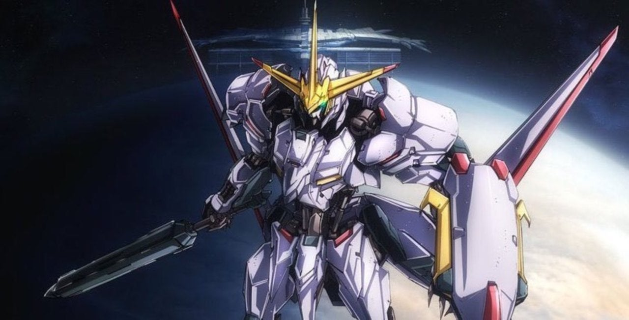 Image of: Gundam Build New mobile Suit Gundam Ironblooded Orphans Anime Shares Trailer Poster Comicbookcom New mobile Suit Gundam Ironblooded Orphans Anime Shares Trailer
