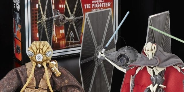 Hasbro Adds The Black Series Zuckuss and Vintage Collection TIE Fighter to Their 'Star Wars' Lineup