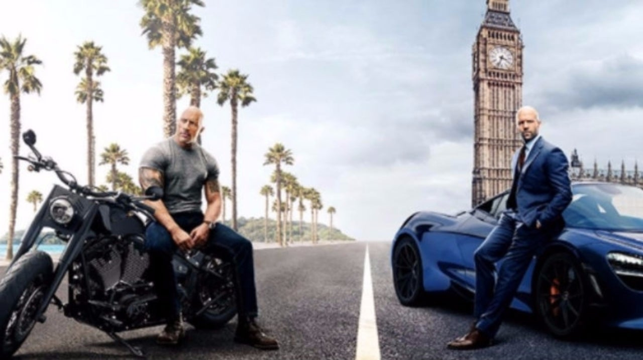 The Rock Celebrates the Official Wrap of Hobbs & Shaw