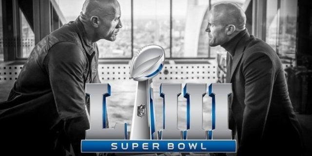 Hobbs Shaw Trailer Super Bowl 2019