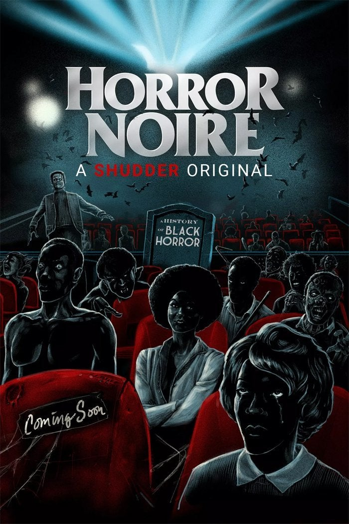 cartaz do filme do horror noire