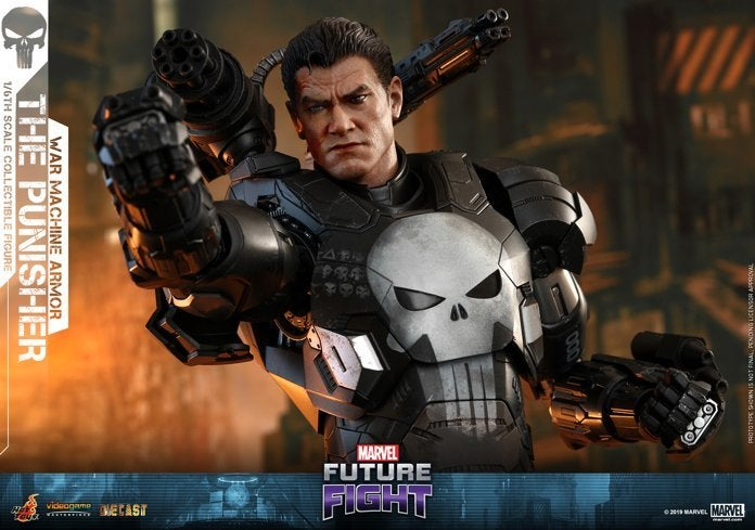 Hot Toys Actually Made a 'Marvel Future Fight' Punisher War Machine Figure