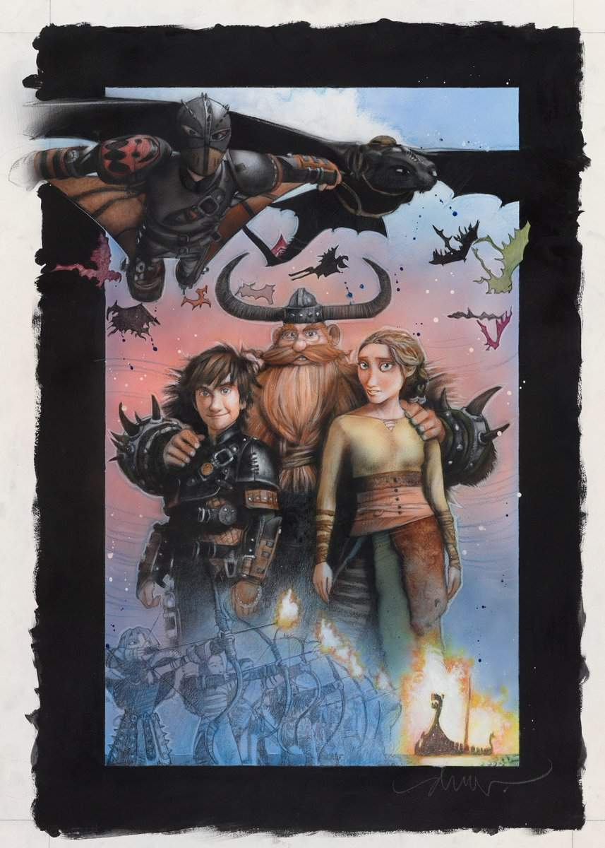 How to Train Your Dragon 2 Drew Struzan