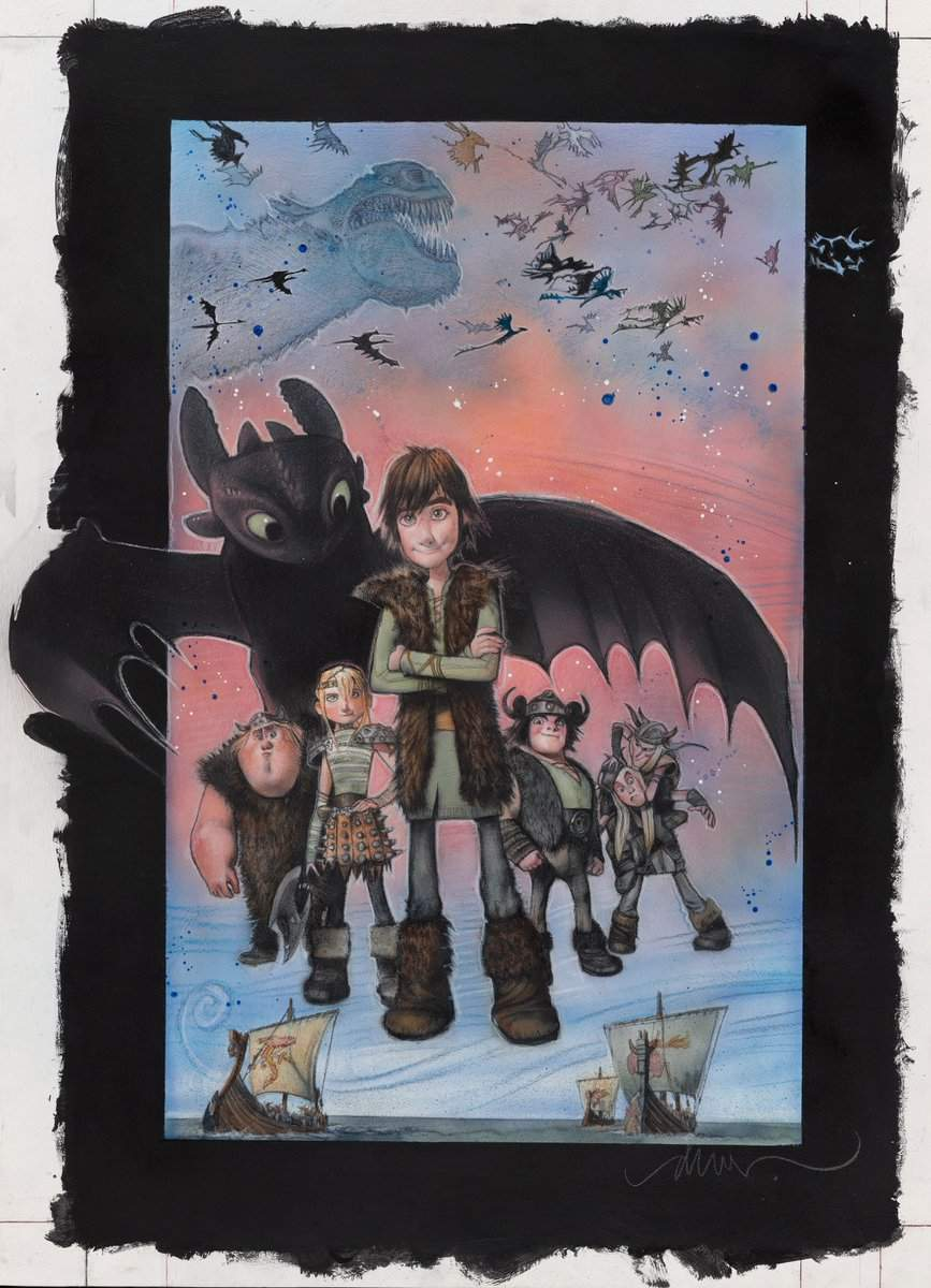 How to Train Your Dragon Drew Struzan