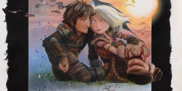 How to Train Your Dragon Struzan
