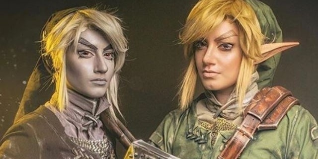 This 'Legend of Zelda' Cosplay Brings Link and Dark Link to Life In Stunning Detail