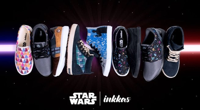 49a294e600 Inkkas Launches a Line of Bold  Star Wars  Shoes