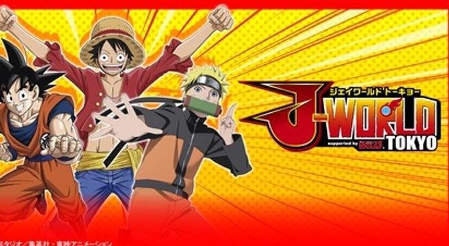 j-world tokyo park anime