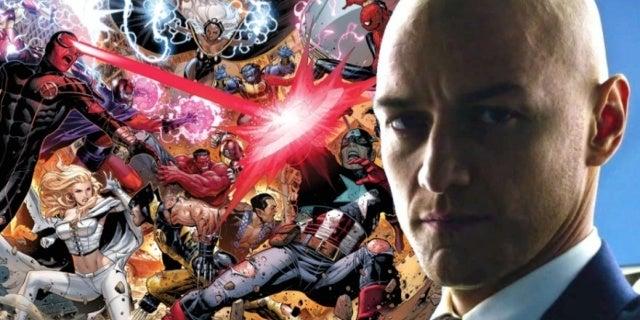 James McAvoy Charles Xavier XMen Avengers comicbookcom